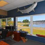 olympia office interior view of marina